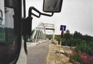 Brücke vor Murmansk